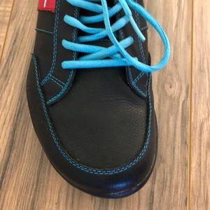 True Linkswear Shoes - True Linkswear golf shoes Black/Tourquoise